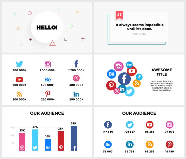 Huge Infographics Bundle! Lifetime Updates! PowerPoint, Photoshop, Illustrator. - 50