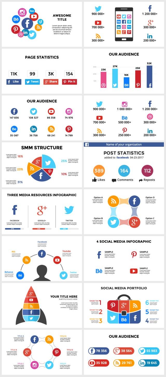 Huge Infographics Bundle! Lifetime Updates! PowerPoint, Photoshop, Illustrator. - 222