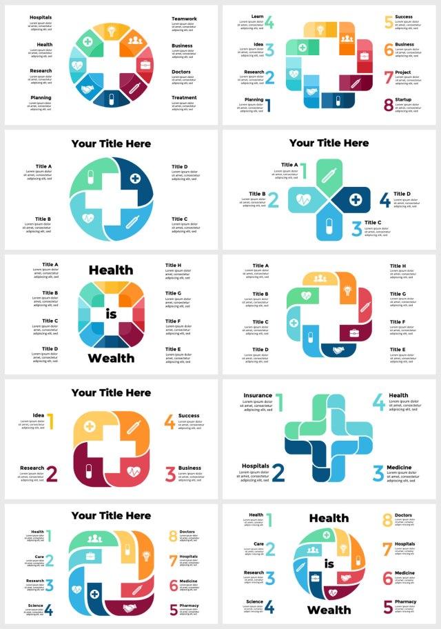 Huge Infographics Bundle! Lifetime Updates! PowerPoint, Photoshop, Illustrator. - 205