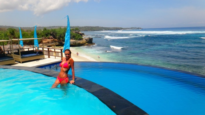 Nusa Lembongan Dream Beach, viajandoenmiescoba