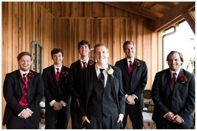 Alan and Groomsmen