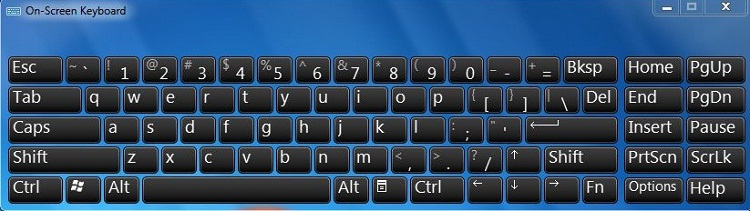 How to get virtual keyboard?