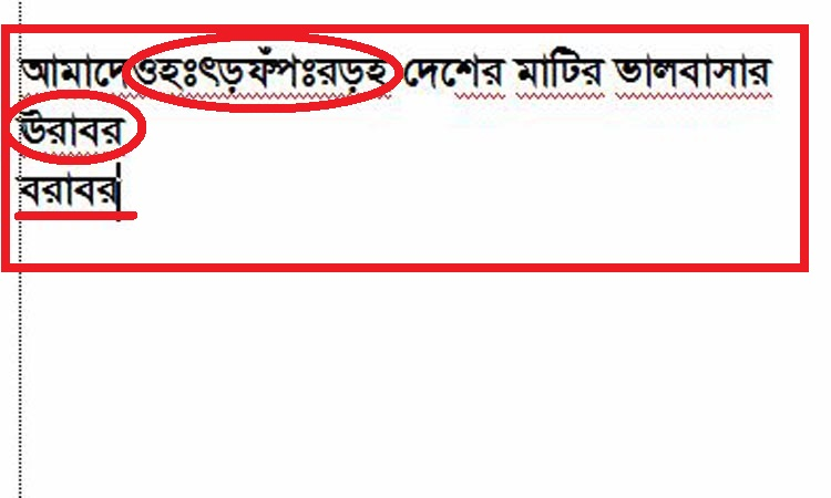 How to write bangla font clearly?