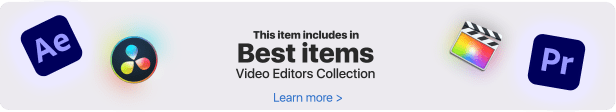 Video Library - Video Presets Package - 1