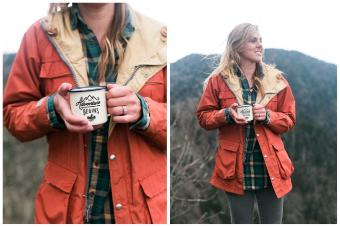 the-adventure-begins-mug-charlies-bunion-engagement-Jill and Daniel