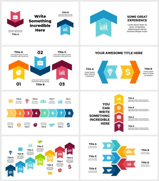 Huge Infographics Bundle! Lifetime Updates! PowerPoint, Photoshop, Illustrator. - 44