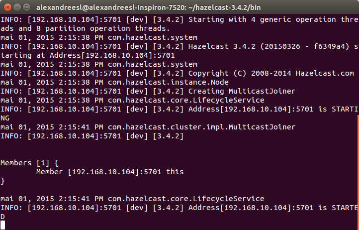 Hands-on HazelCast: using a open source in-memory data grid (2/5)