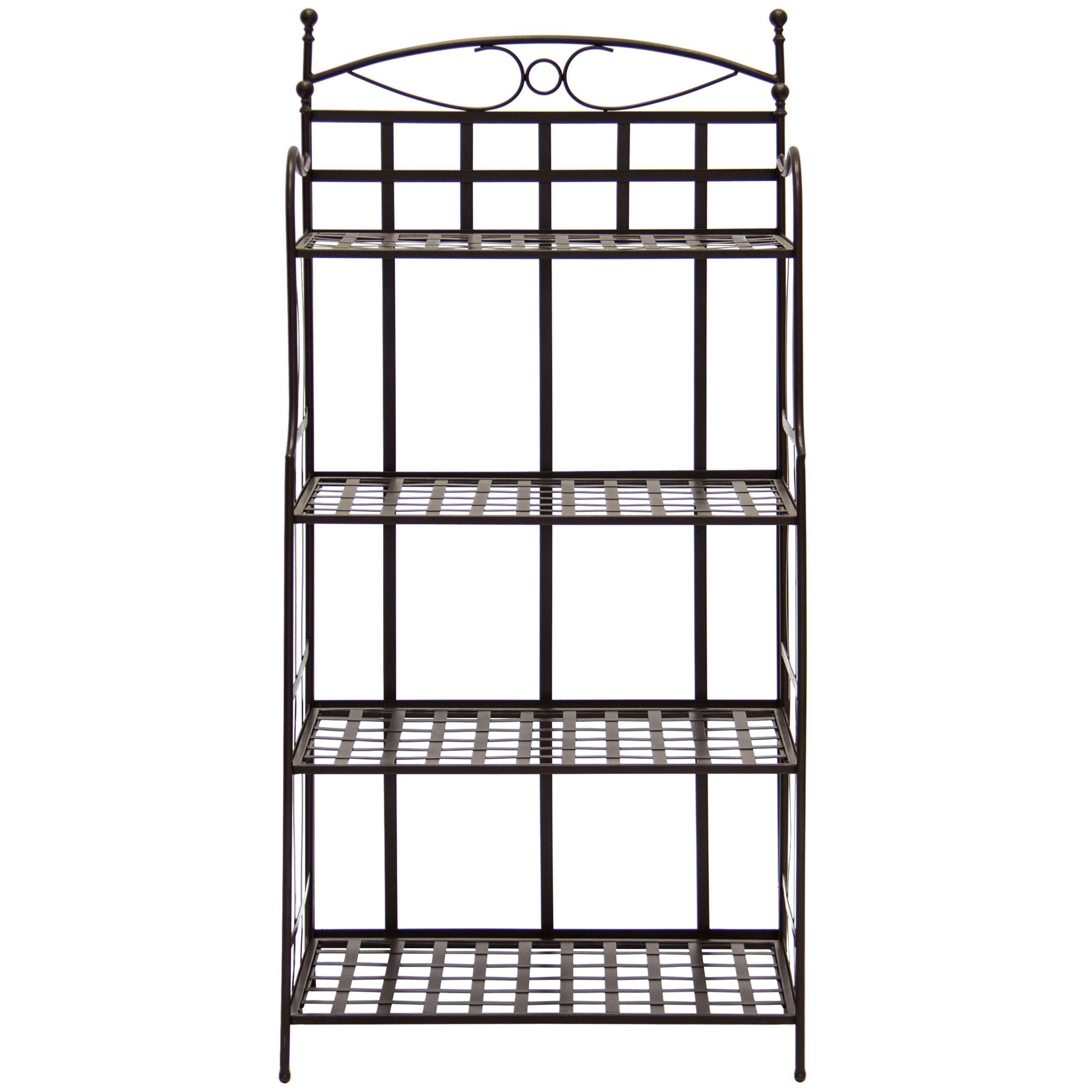 Best Choice Products 4 Tier Indoor Outdoor Bakers Rack
