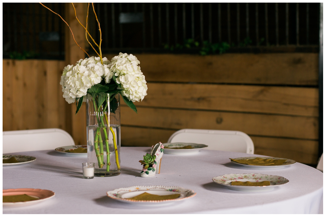 Barn in the Bend Centerpiece