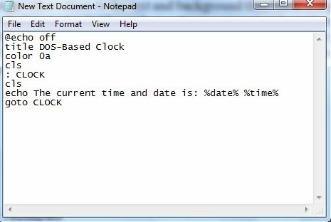 How to show date and time on notepad tricks?