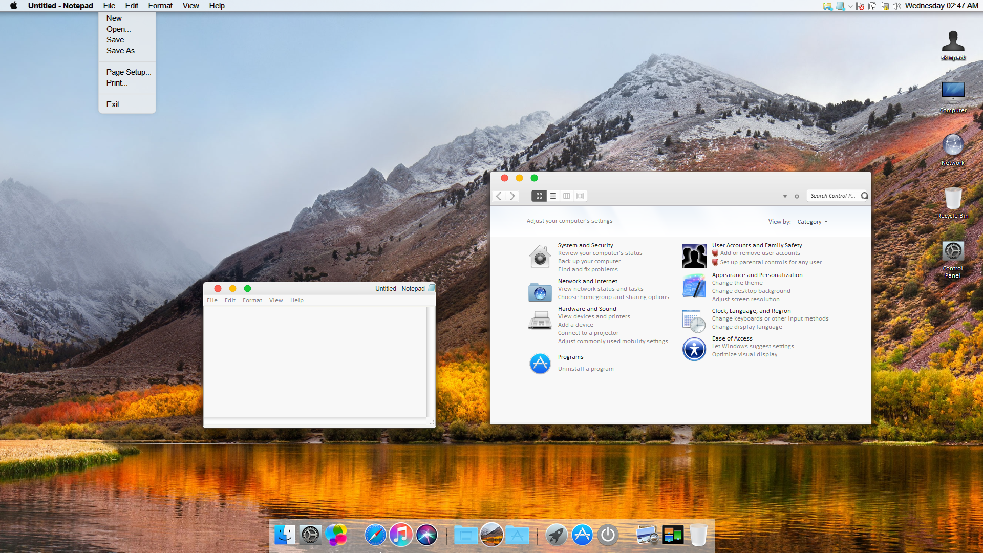macos transformation pack 2018