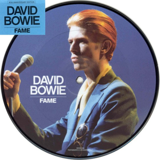 David Bowie - Fame - 40th Anniversary Picture Disc