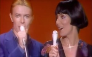 David Bowie & Cher duet on 'Can You Hear Me' on the Cher Show in 1975