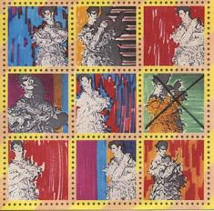 Ashes To Ashes - Stamps - David Bowie - 1980