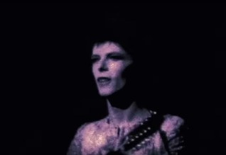 David Bowie and the Spiders perform Hang On To Yourself at the Rainbow Theatre in 1972