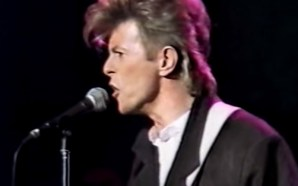 David Bowie performs 'Young Americans' at the Tivoli Club in Sydney on the Australian leg of the Glass Spider tour, filmed on 27 September 1987.