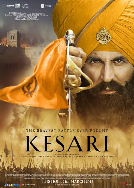 Kesari (2019) Hindi 480p | 720p BluRay 400MB | 1.2GB  Download