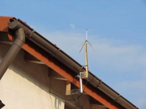 Groundplane für 70cm am Dach