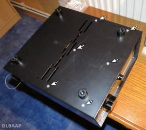 Drake RV-4 Lösen der Chassis-Schrauben