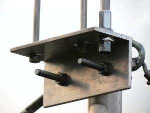 Prototype OJS-Antenne Befestigung