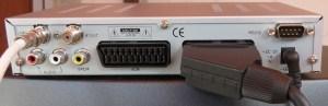 Sat-Receiver SL65/12 Rückseite