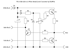 DL8WA 2-wire level converter
