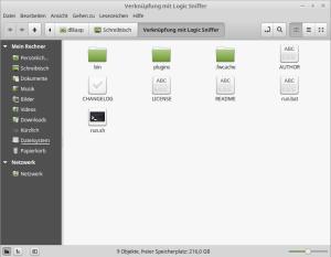 Start der Logic Sniffer Software