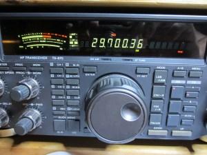 """Der Si5351 """"stört"""" sogar auf der richtigen Frequenz"""