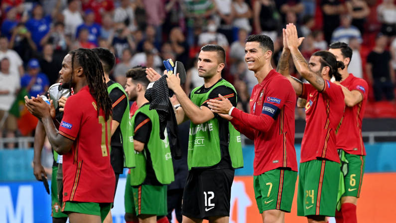 Euro 2020 Portugal vs France Highlights: Portugal qualifies and France tops  Group F as both teams settle for a 2-2 draw in Budapest | TV9News