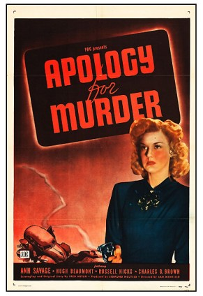 Apology for Murder-Heritage Auctions