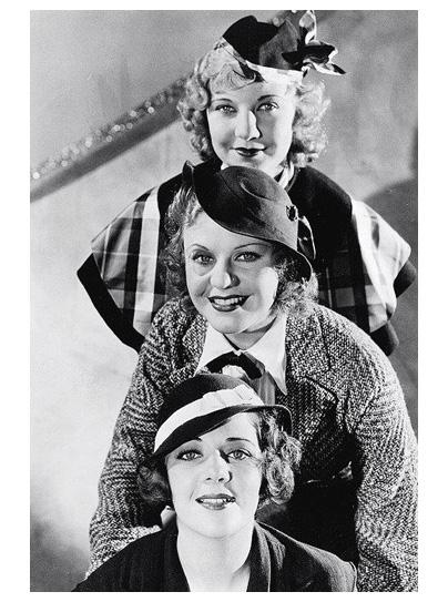 Una Merkel, Ginger Rogers, Ruby Keeler, 42nd St.
