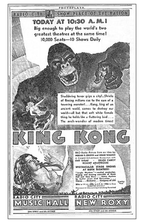Radio City Music Hall-King Kong
