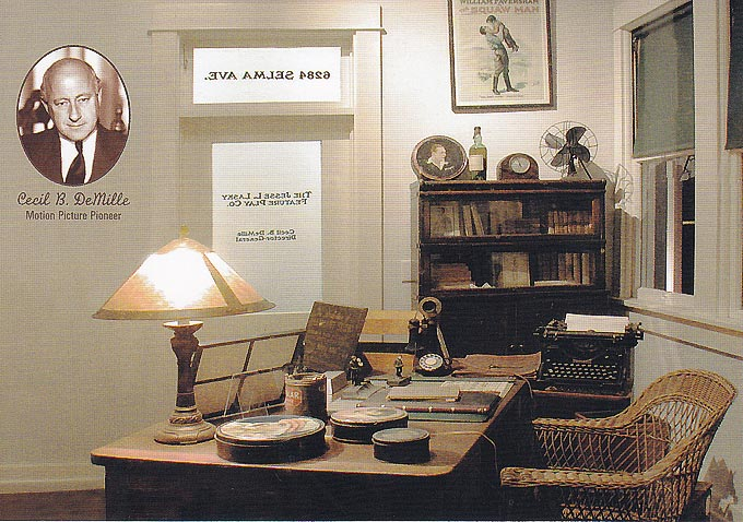 Cecil B. DeMille office recreated