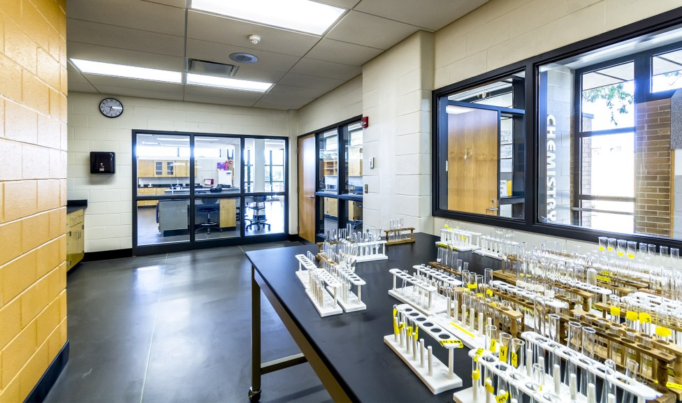 An Independent Research Lab provides advanced students the dedicated space to complete admission requirements for elite higher education institutions.