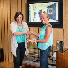 Nikki from Elgin High School's clear and concise entry earned her First Place in the State Level scholarship this year.