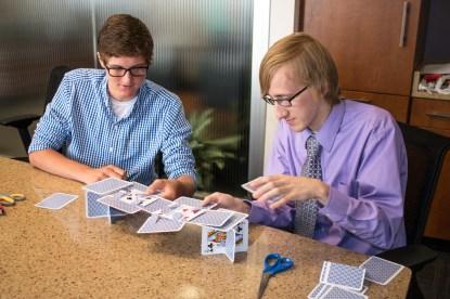 Payton & Bryar take on the bridge challenge.