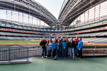 Facility Tour of Brewers Stadium