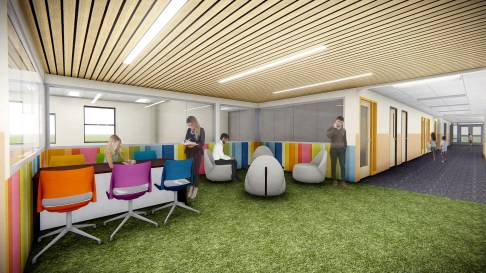 Professional Development Space in the Corridor