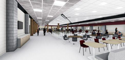 Kankakee High School Cafeteria