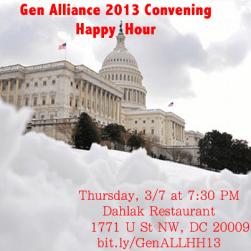 March 7 - DLabrie Live in Washington D.C at Generational Alliance Convening at Dahlak even thru the Blizzard