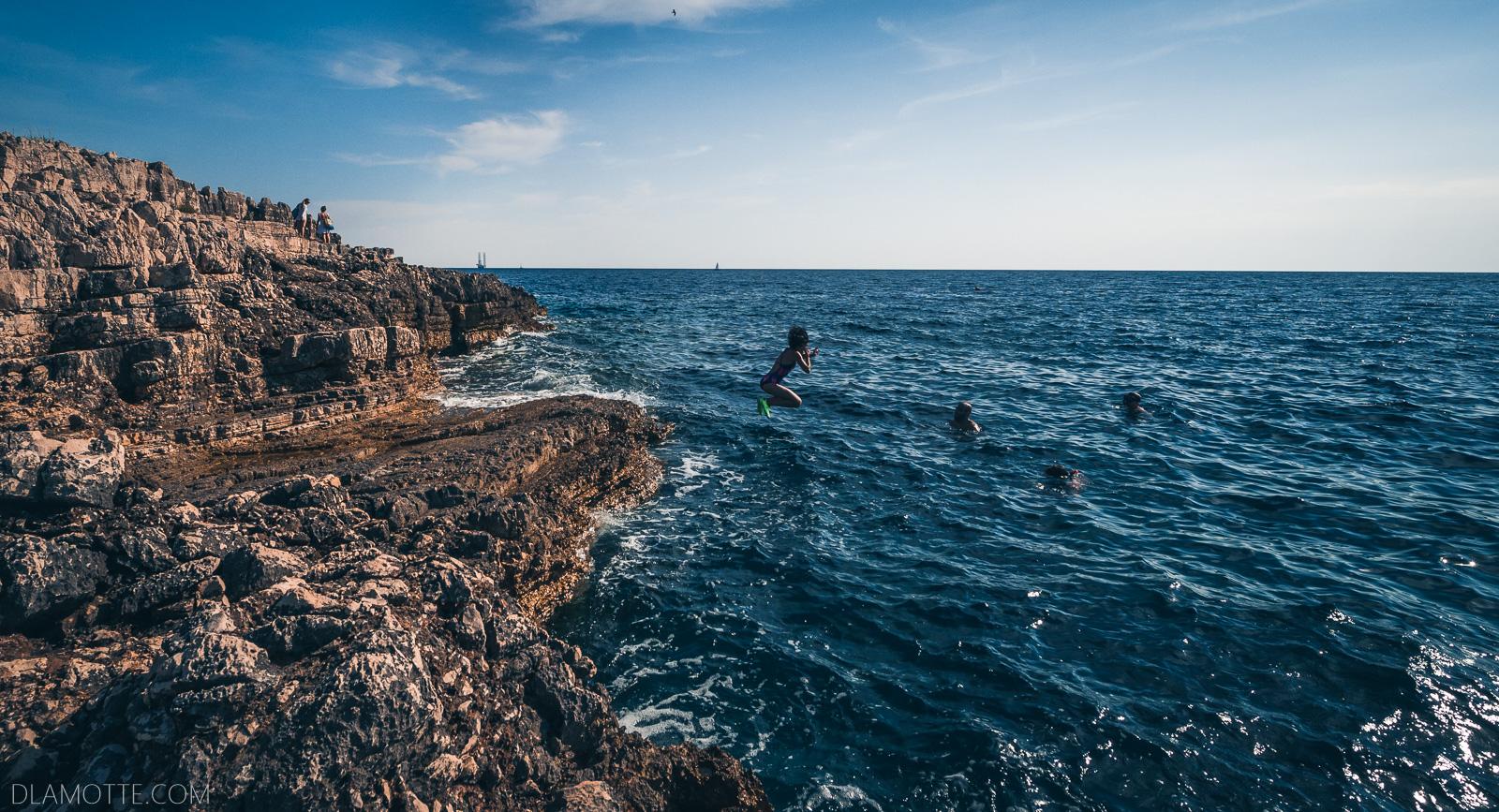 morze chorwacka Pula