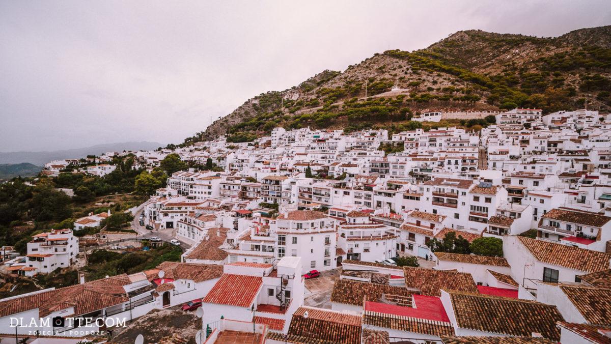 białe miasteczko Mijas roadtrip po Andaluzji