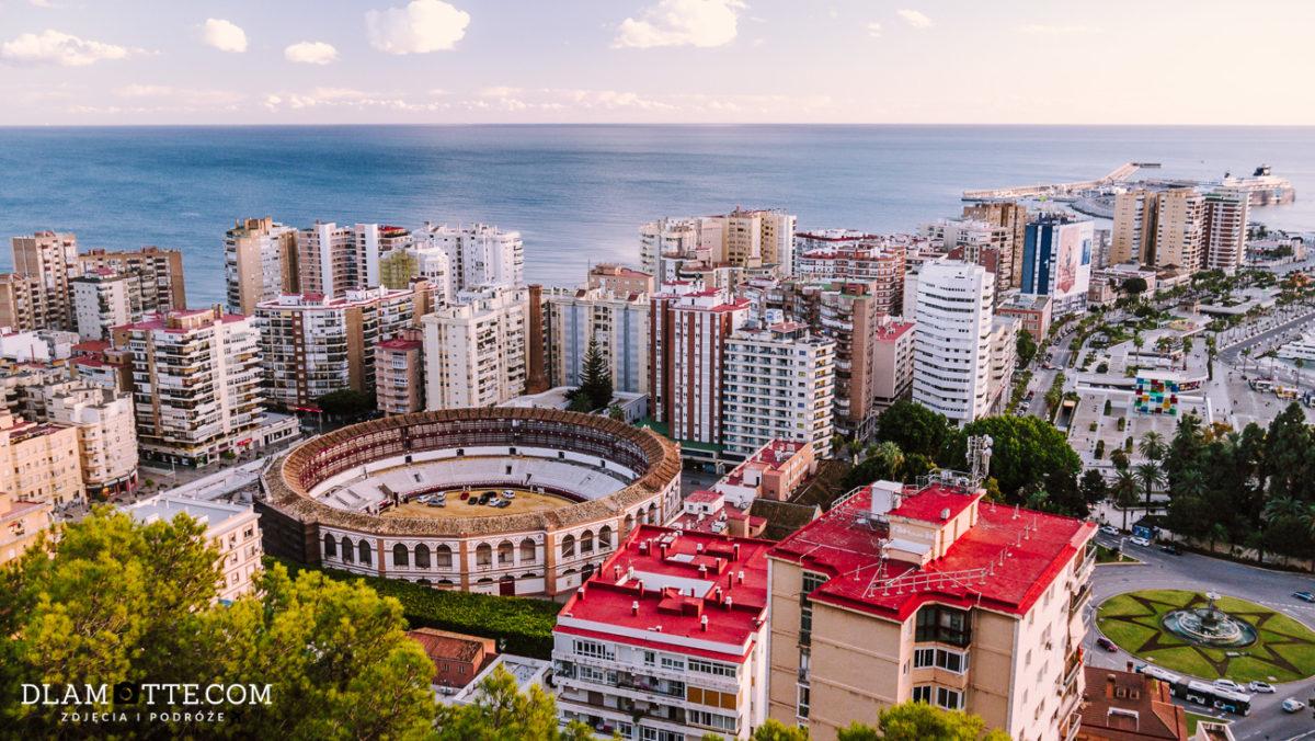 panorama Malagi roadtrip po Andaluzji