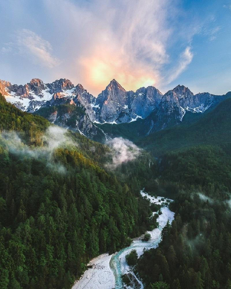 Słowenia Trygławski Park Narodowy