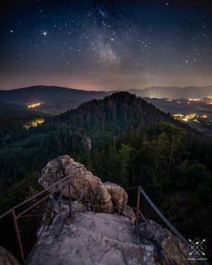 Sokolik plakat foto góry Rudawy Janowickie