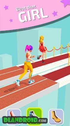 Shoe race app