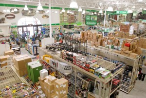 How to sell to Menards | Manufacturer Sales Represenative store inside