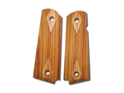 Hogue 1911 Exotic Grips Government and Commander Tulipwood
