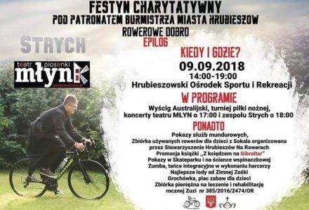 Zapraszamy na festyn charytatywny dla Zuzi – 9 września teren HOSIR