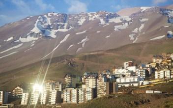Summer scene at the La Parva ski area